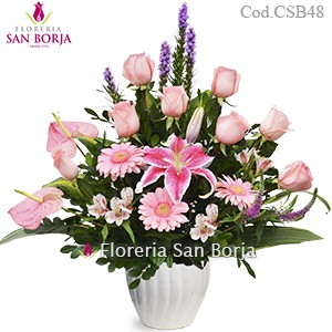 Modelo Pink Roses for you