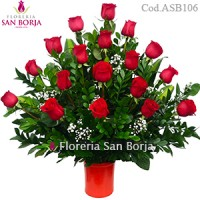 Modelo All My Love - 18 rosas