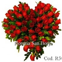 Modelo Corazn de Rosas 
