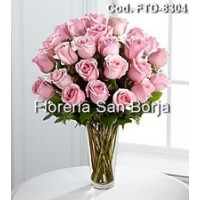Passion 24 Rosas Rosadas