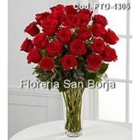 Passion 24 Rosas Rojas