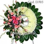 D7 Floral Wreath