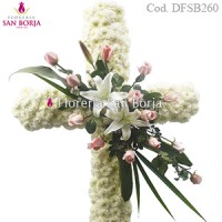 Medium Funeral Cross D215