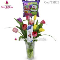 Modelo How sweet you are - 10 tulipanes