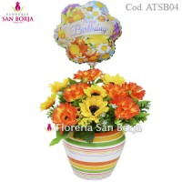 Modelo Life in color - flores artificiales