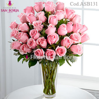 Passion 36 Pink Roses