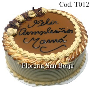 Torta 3 Leches de Lucuma - pedidos 24 horas de anticipacion