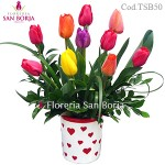 Modelo Sweet Tulips - 10 tulipanes