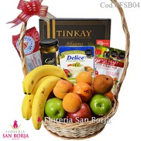 Canasta Fresh Fruits and Snacks