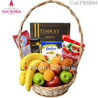 Canasta Fresh Fruits and Snacks - Pedidos con 24 horas anticipacion