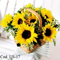 Canasta Sunflowers