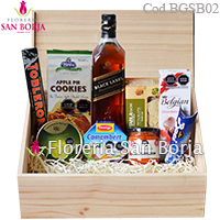 Box de madera Gourmet Stirling