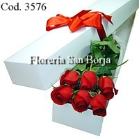 roses to Piura, floral delivery service to Piura, boxed roses Piura