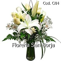 condolence flower arrangement for sympathy Peru, send funeral flowers to Lima Peru