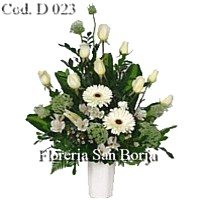 Flower arrangements for sympathy Peru, send funeral flowers to Peru, delivery of symathy flower arrangements to Peru