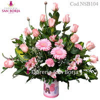 new baby flowers Tacna, send flower arrangements for new born babies in Cusco