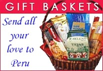 gift baskets to Peru, gift hampers Lima