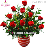 flowers Peru, send flowers Lima Peru, excellent combination of roses and gifts Lima, floral gifts to Lima