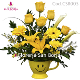 flower arrangements with roses to Peru, floral arrangements to Lima Peru, buy online flowers to Lima