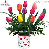 buy tulips to Lima, shop tulips to Peru, delivery of beautiful tulips to Peru