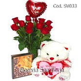 send flowers Peru, beautiful roses, balloon, chocolates and plush animals, teddy bears, flowers to Peru